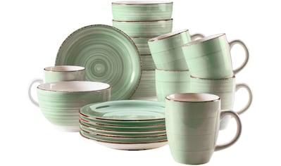 "Home affaire Kaffeeservice ""Bel Tempo"" (18 - tlg.), Keramik kaufen"