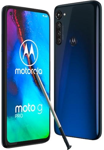 "Motorola Smartphone »moto g Pro«, (16,25 cm/6,4 "" 128 GB Speicherplatz, 48 MP Kamera) kaufen"