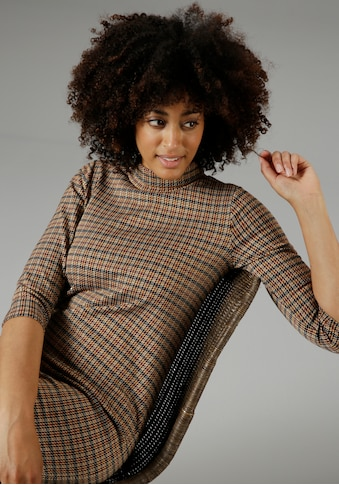 Aniston SELECTED Jerseykleid, mit Umschlag-Kragen - NEUE KOLLEKTION kaufen