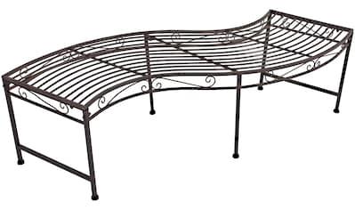 GARDEN PLEASURE Gartenbank »Darwin«, Metall, 165,5x45,5 cm kaufen