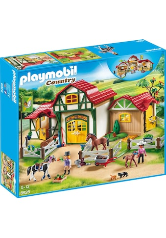 Playmobil® Konstruktions-Spielset »Großer Reiterhof (6926), Country«, Made in Germany kaufen