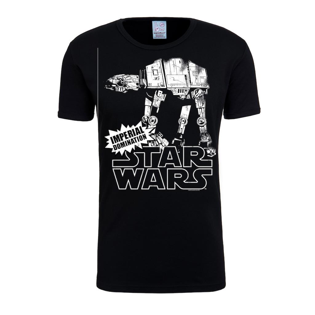 LOGOSHIRT T-Shirt mit großem Star Wars-Aufdruck
