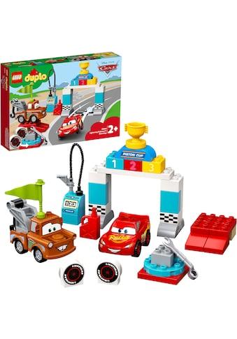 LEGO® Konstruktionsspielsteine »Lightning McQueens großes Rennen (10924), LEGO® DUPLO® & Disney Cars™«, (42 St.) kaufen