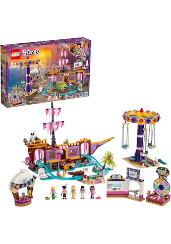 """LEGO® Konstruktionsspielsteine """"Vergnügungspark von Heartlake City (41375), LEGO® Friends"""", Kunststoff, (1251 - tlg.) kaufen"""