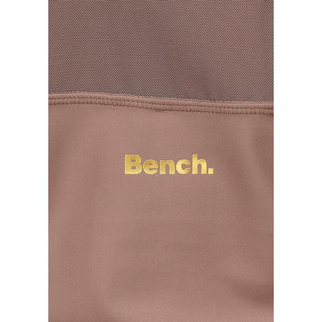 Bench. Sporttop, mit Mesh-Einsatz