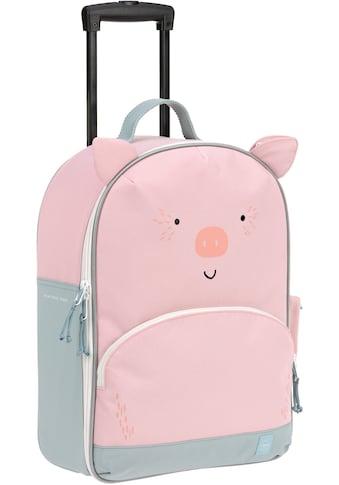 Lässig Kinderkoffer »About Friends, Schweinchen Bo«, 2 Rollen kaufen