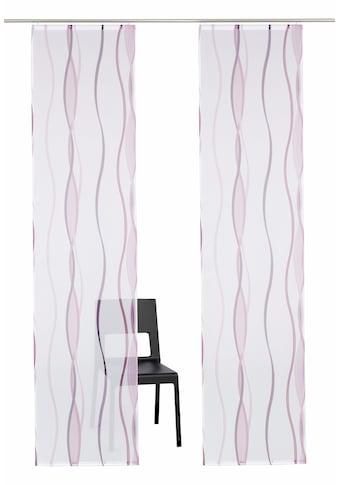 my home Schiebegardine »Dimona«, Fertiggardine, inkl. Befestigungszubehör, transparent kaufen
