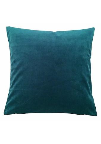 HOME WOHNIDEEN Kissenhüllen »SAMT« kaufen