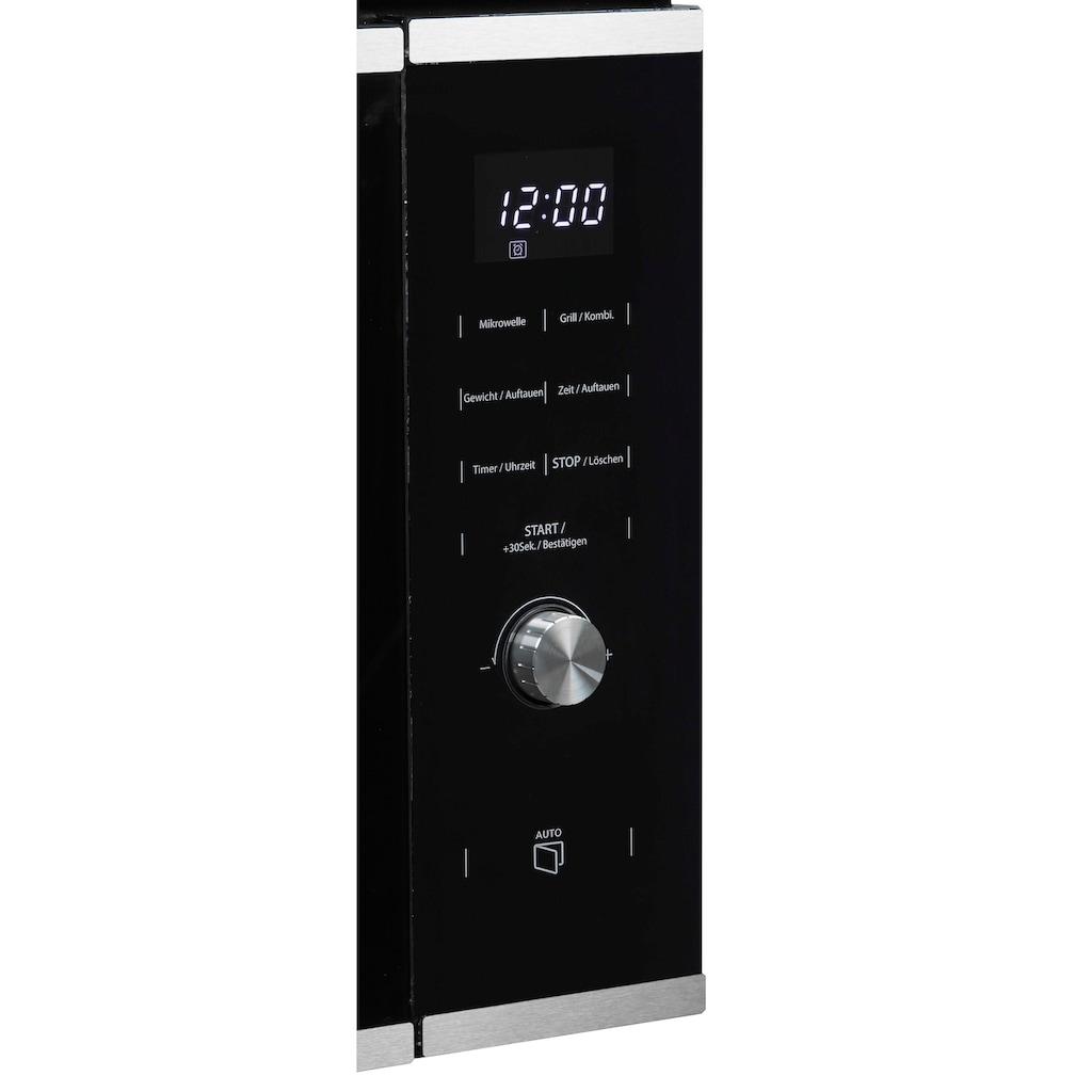 Hanseatic Einbau-Mikrowelle »TG925HS6«, Grill-Mikrowelle, 850 W