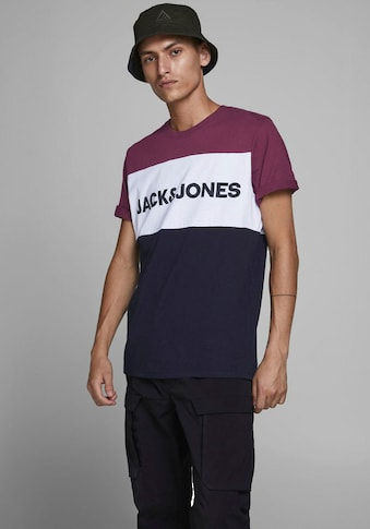 Jack & Jones T-Shirt »LOGO BLOCKIN« kaufen
