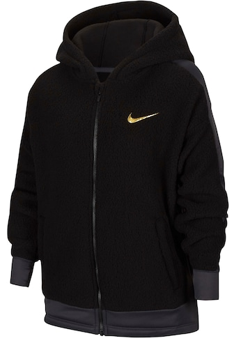 Nike Kapuzenfleecejacke »GIRLS NIKE THERMA WINTERIZED FULLZIP HOOD« kaufen