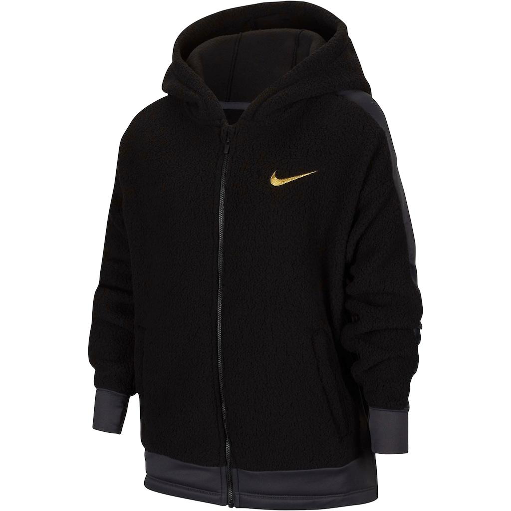 Nike Kapuzenfleecejacke »GIRLS NIKE THERMA WINTERIZED FULLZIP HOOD«