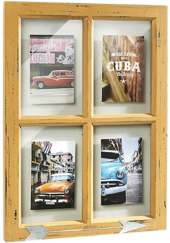 locker Bilderrahmen, für 4 Bilder, Bilderhalter Window für 4 Bilder kaufen