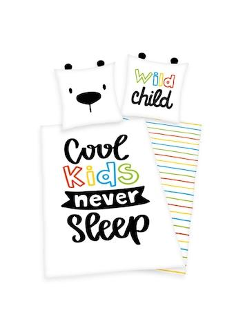 Herding Young Collection Kinderbettwäsche »Bettwäsche Cool Kids«, Wendebettwäsche mit... kaufen
