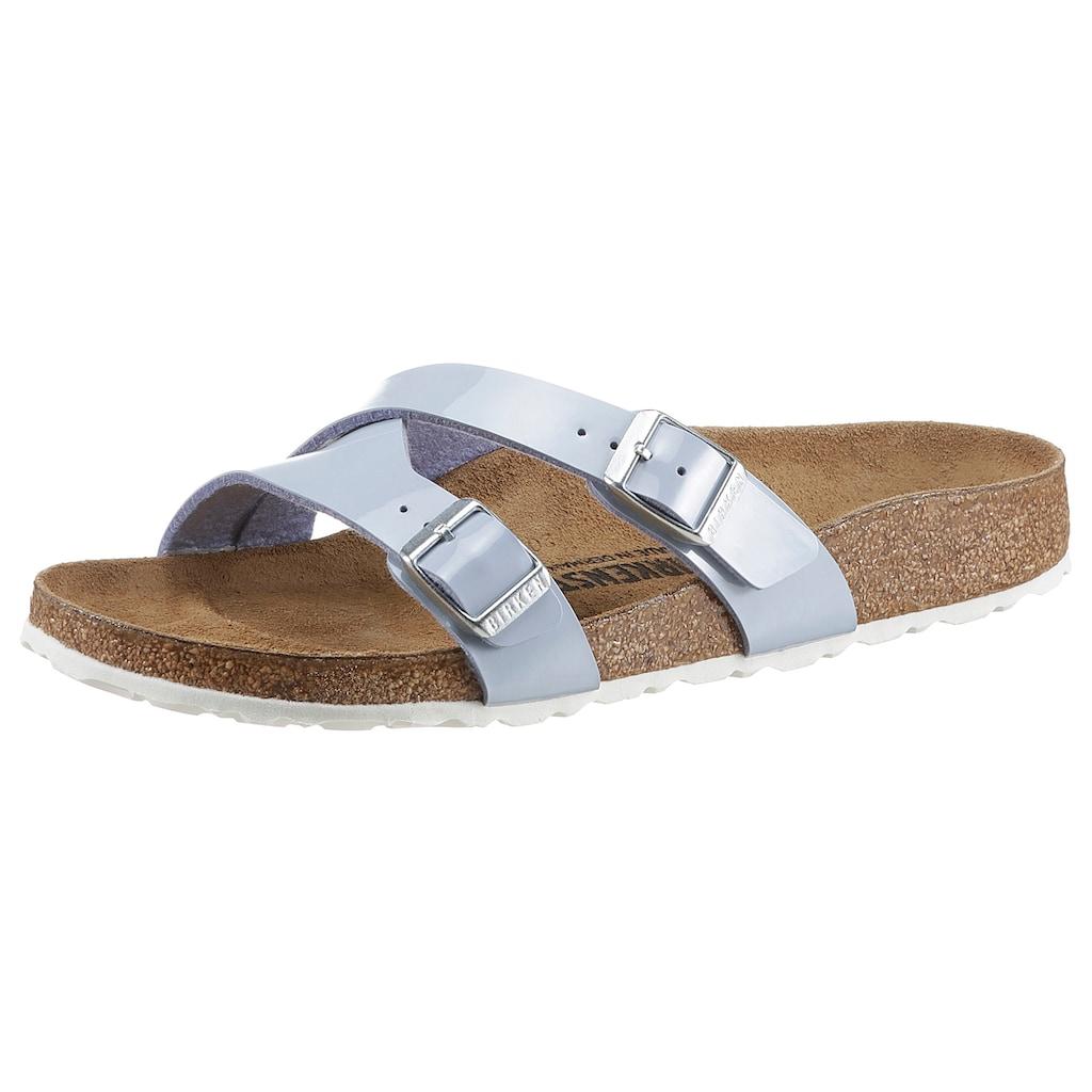 Birkenstock Pantolette »YAO«, in Schuhweite: schmal