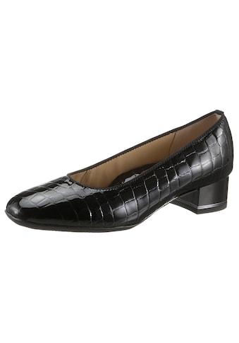 Ara Pumps »GRAZ«, mit Reptilprägung, Schuhweite: weit kaufen