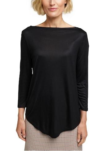 Esprit Collection Langarmshirt, mit zartem U-Boot Ausschnitt kaufen