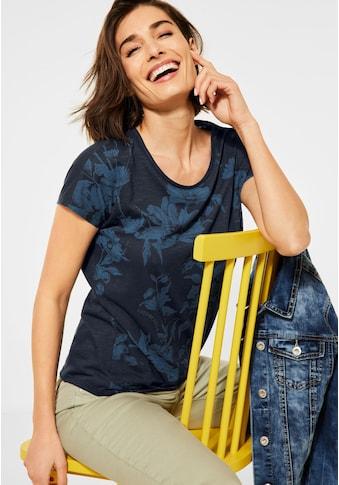 Cecil T-Shirt, mit Blumenprint kaufen