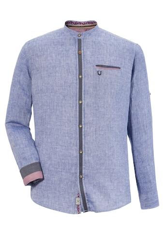 KRÜGER BUAM Trachtenhemd »Peer«, mit Stickerei kaufen