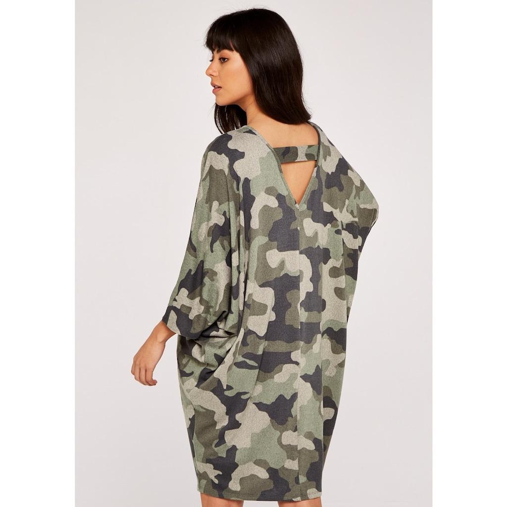Apricot Strickkleid »Cozy Cocoon Dress«, mit Rückenausschnitt