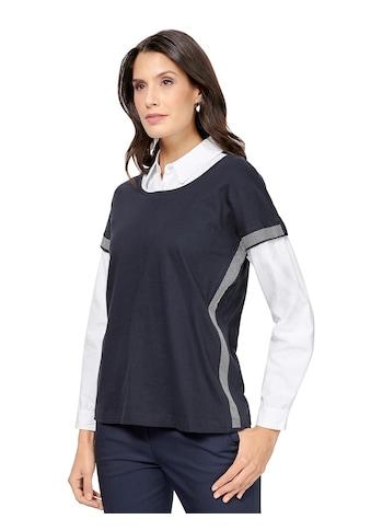 Inspirationen 2 - in - 1 - Shirt aus reiner Baumwolle kaufen