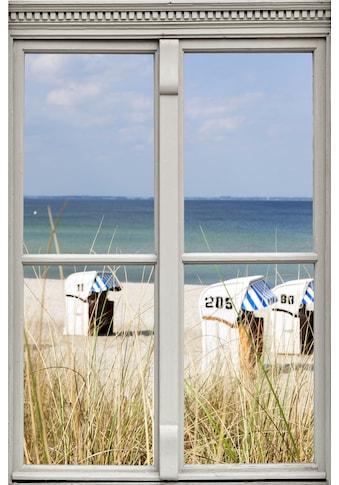 queence Wandsticker »Strandkörbe« kaufen