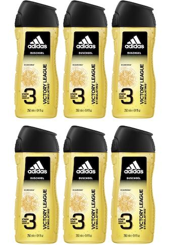 adidas Performance Duschgel »Victory League 3in1«, (Spar-Set, 6 tlg.), für Männer kaufen