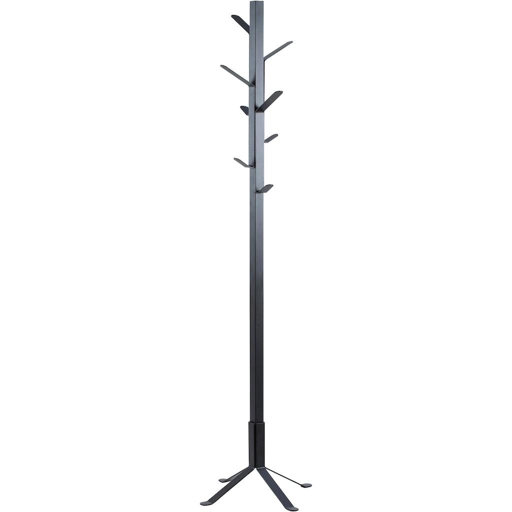 andas Kleiderständer »Vincent«, mit mehreren Haken, aus schönem Metall, Höhe 181 kg