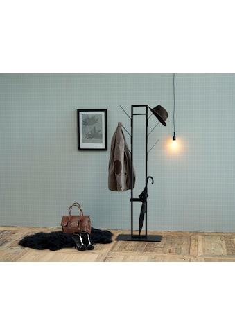 andas Kleiderständer »Vincent«, aus schönem schwarzen Metall gefertigt, Höhe 165 cm kaufen