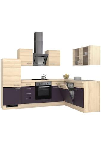 Flex-Well Winkelküche, mit E-Geräten, Stellbreite 280 x 170 cm kaufen
