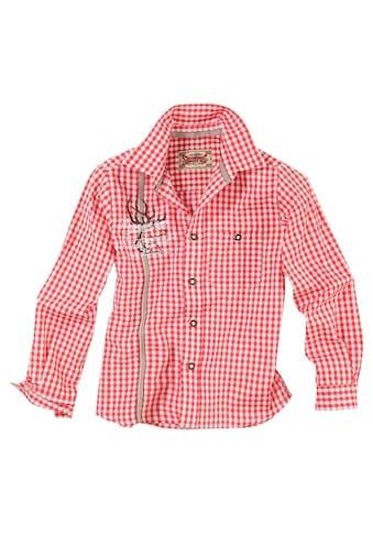 Stockerpoint Trachtenhemd, Kinder mit Stickerei kaufen