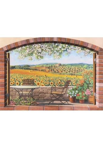 Home affaire Deco-Panel »ANDREA DEL MISSIER / Verso le colline«, (80/3/60 cm) kaufen