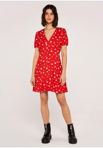 Apricot Druckkleid »Floral Spot Button Down Dress«, mit Knöpfen kaufen