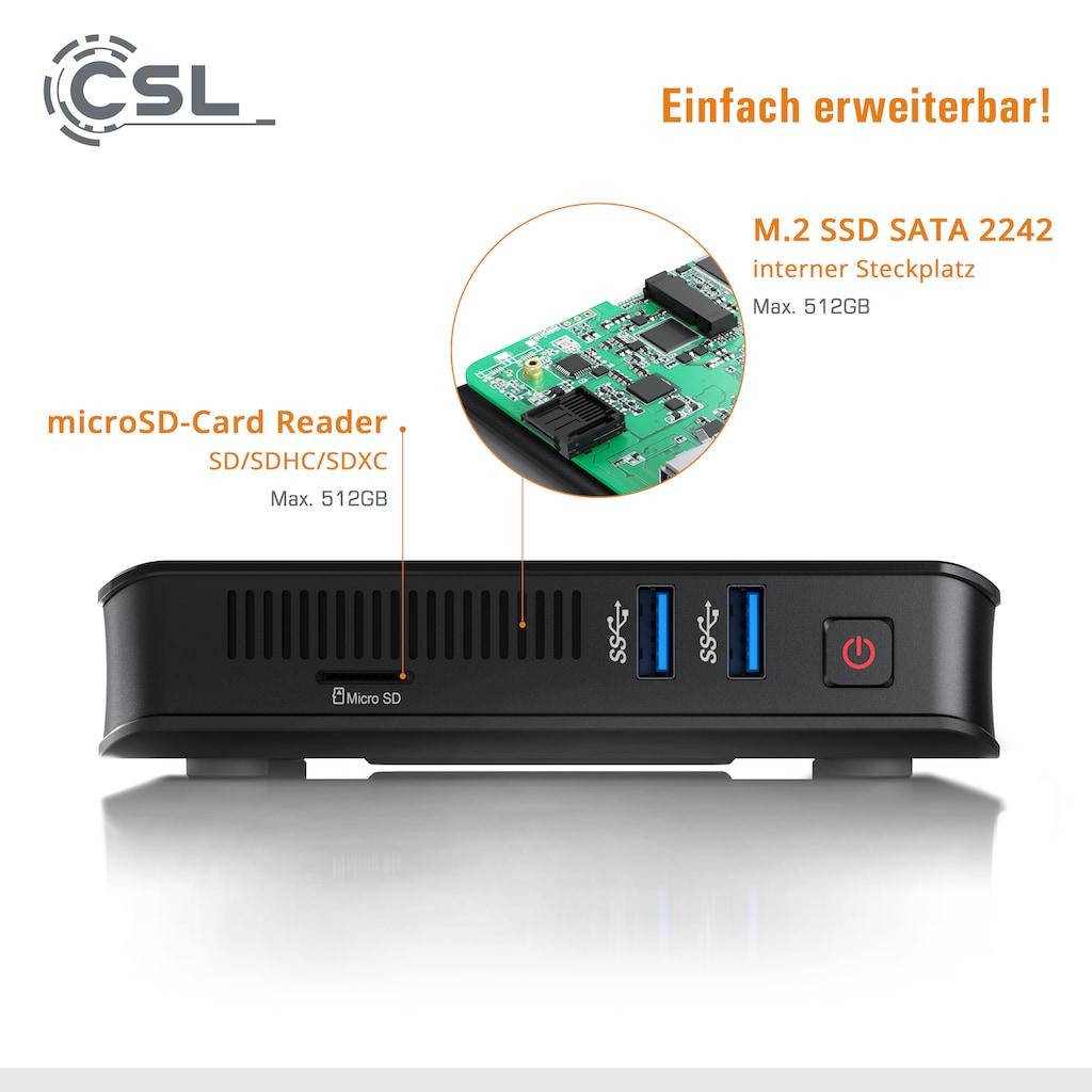 CSL Mini-PC »Narrow Box UHD Compact, Windows 10«