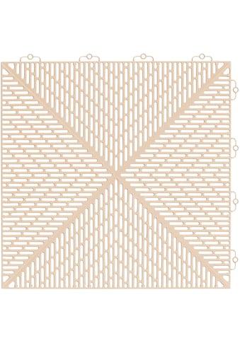 Bergo Flooring Terrassenplatten »Unique Sand«, Kunststofffliesen, einfach... kaufen