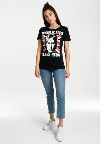 LOGOSHIRT T-Shirt »John Lennon - Working Class Hero«, mit lizenziertem Originaldesign kaufen