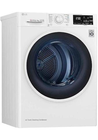 LG Wärmepumpentrockner RT8DIH1Q, 8 kg kaufen
