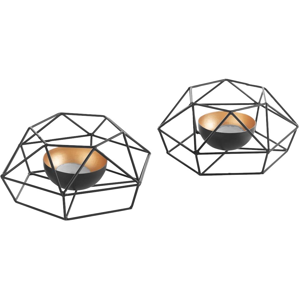andas Teelichthalter, im Scandi-Stil