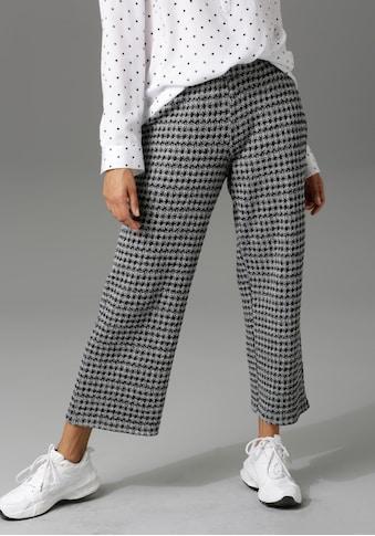 Aniston CASUAL Culotte, im Hahnentritt-Muster kaufen