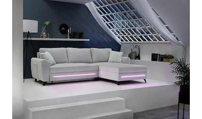 Jockenhöfer Gruppe Ecksofa, mit RGB-LED-Beleuchtung und Funkfernbedienung kaufen