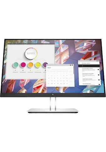 "HP LED-Monitor »E24 G4«, 60,45 cm/23,8 "", 1920 x 1080 px, Full HD, 5 ms Reaktionszeit,... kaufen"