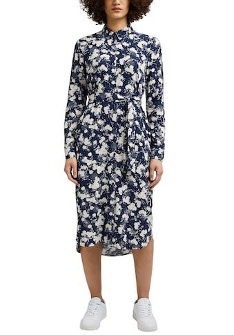 Esprit Blusenkleid, im schönen Print kaufen