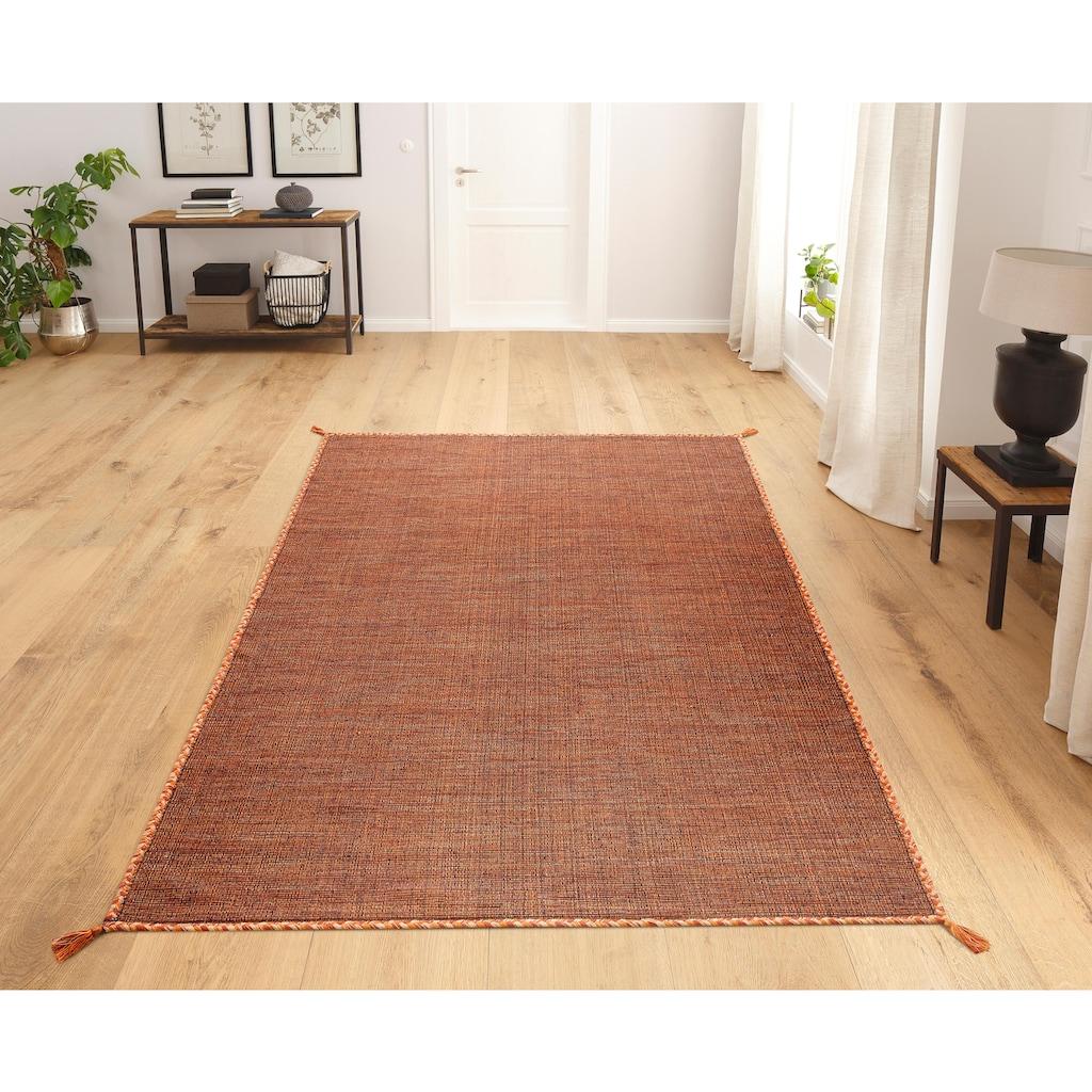 Theko Exklusiv Teppich »Micol«, rechteckig, 3 mm Höhe, Wendeteppich, Wohnzimmer