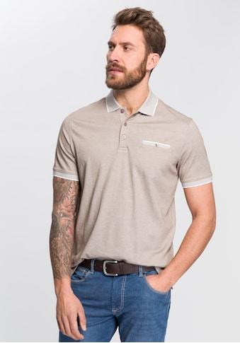 bugatti Poloshirt, mit Zierleistentasche kaufen
