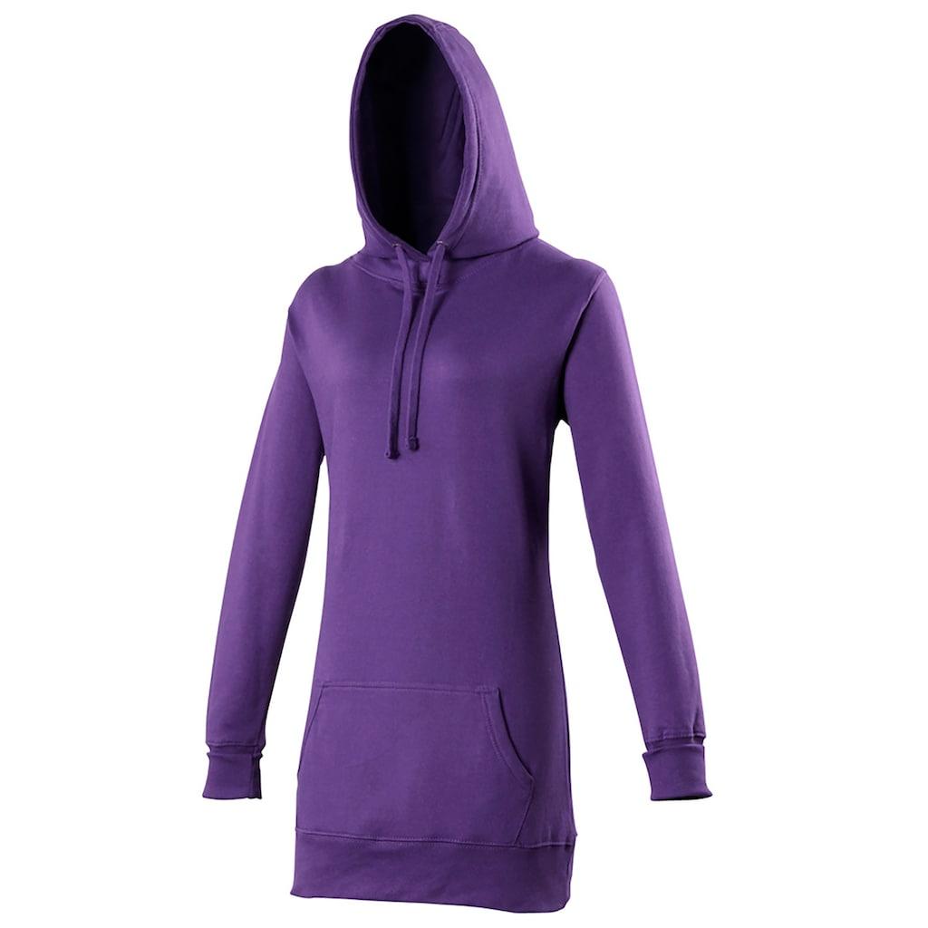 AWDIS Kapuzenpullover »Girlie Damen Kapuzen Pullover extra lang«