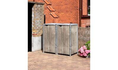 Hide Mülltonnenbox, BxTxH: 191x108x132 cm kaufen