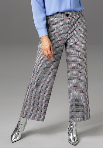 Aniston CASUAL Culotte, im trendigen Karo-Dessin - NEUE KOLLEKTION kaufen