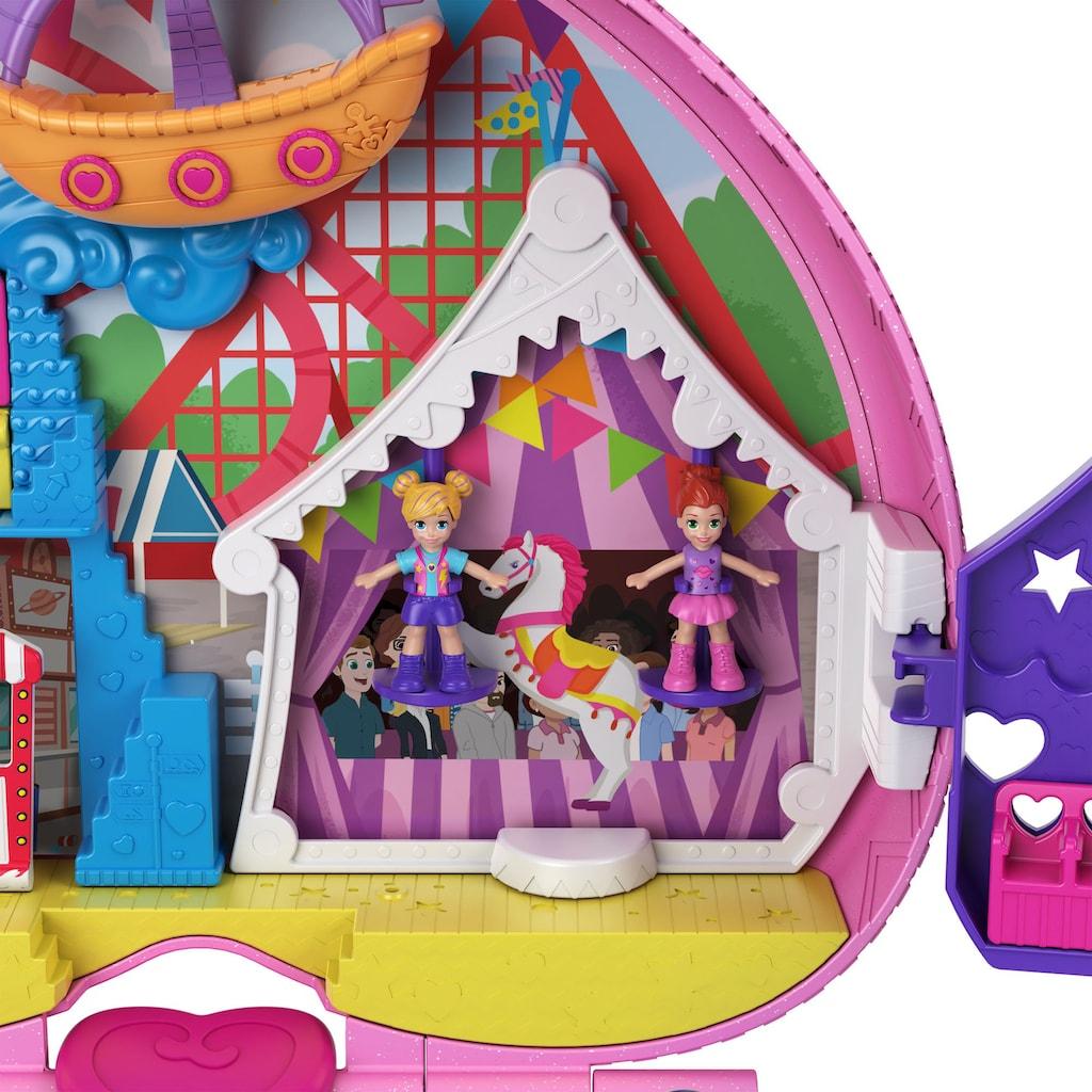Mattel® Spielwelt »Polly Pocket Klein - ganz groß Freizeitpark Rucksack«, Sammelfigur