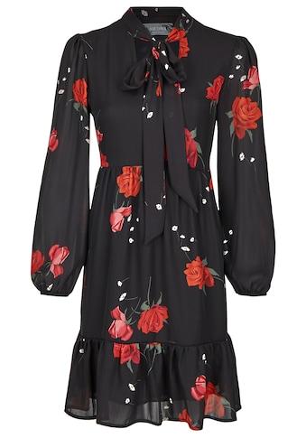 Nicowa Verspieltes Mini-Kleid mit langen Ärmeln - RONOSA kaufen
