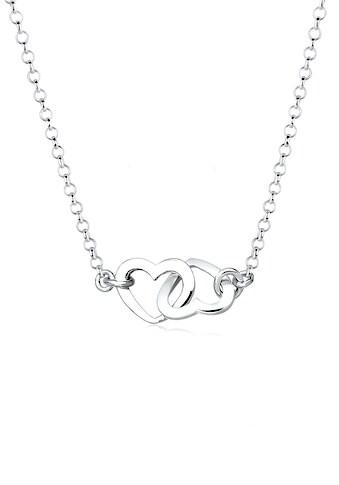 Elli Collierkettchen »Herzen Liebe Verbunden 925 Sterling Silber« kaufen